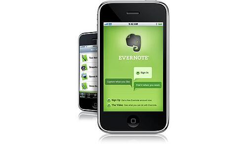 evernote mobile app
