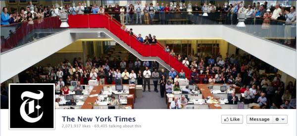 NYT Facebook cover photo