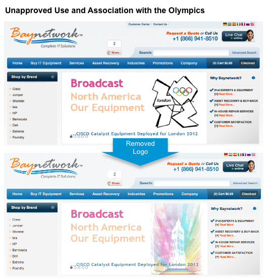 Cisco olypmic games