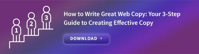 How to Write Great Web Copy